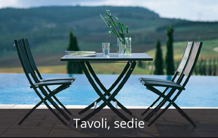 Tavoli, sedie